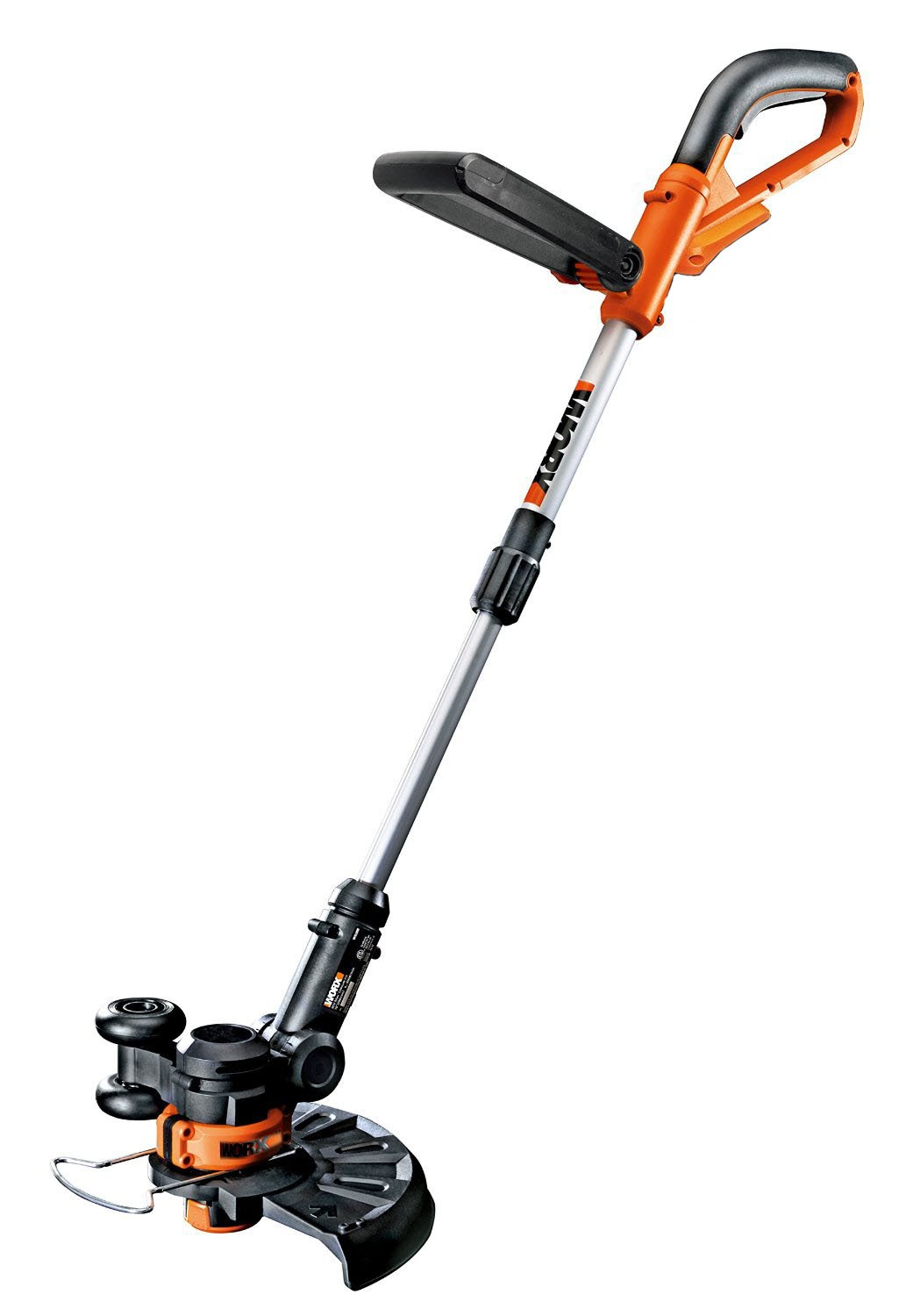 WORX WG156 Li-Ion Cordless Grass Trimmer/Edger with Manual Handle, 10-Inch,(Bare Tool Only)
