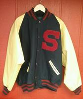 Custom Varsity Jackets with Your Own Logos, Labels, Patches, Beautifully Embroidered Custom Varsity Jacket