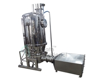 SGS ISO Approved Horizontal Vibrate Fluid Bed Dryer for Drying Saline Salt Granules Pellets in