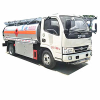Chengli Factory Selling Fuel tanker truck China brand 4x2 5Ton Gasoline diesel oil transportation truck 5000 liters