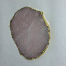 <span class=keywords><strong>Fascinerende</strong></span> Quartz Slice Non-Plated Rose Quartz
