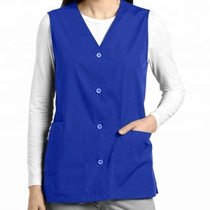 Hospital Using New Design Nurse Uniform Vest