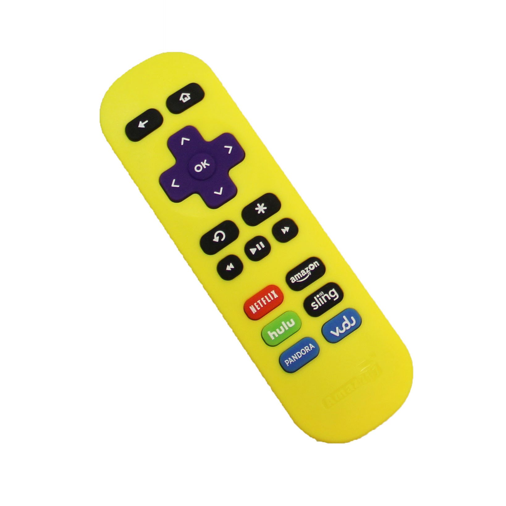 Amaz247 ARCBZ01 Replacement Remote for Roku Streaming player (Roku 1/2/3/4, HD/LT/XS/XD), MLK247 Streaming Player; DO NOT Support Roku Stick, Roku TV or MLK247 TV