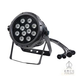 DJ disco light stage equipment IP65 P3 LED Water Proof 12 pieces 6W RGBWA UV 6 in 1 outdoor Par Light
