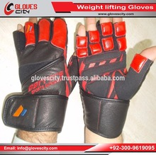 Weight Lifting Gloves Private Label / Wholesale LEATHER Weight Lifting Gloves