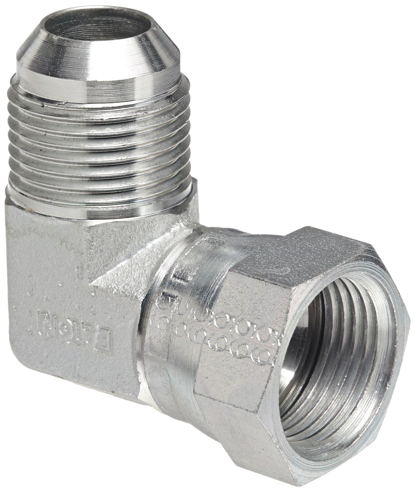 Eaton C5515X8 Lot Of 10 Each SAE 37° FlareTwin 90° Elbow Weatherhead
