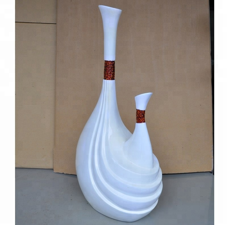 Wholeslae high quality eco-friendly lacquer vase for decorate made in Vietnam