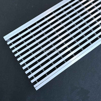 Stainless steel 304 316 wedge wire grate for bathroom