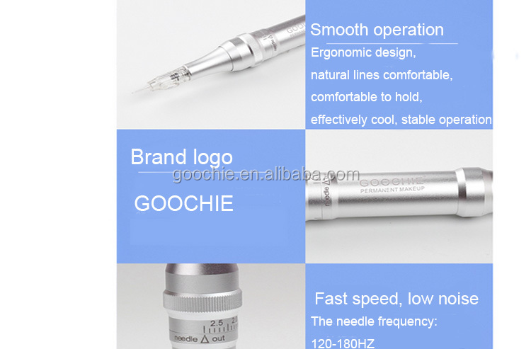high quality Professional Digital goochie m8-4 permanent Makeup Cosmetics Tattoo digital tattoo machine strong power for two pen