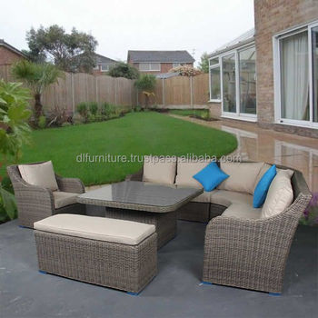 Garden Line Poly Rattan Patio Furniture Garden Furniture Outdoor Pe
