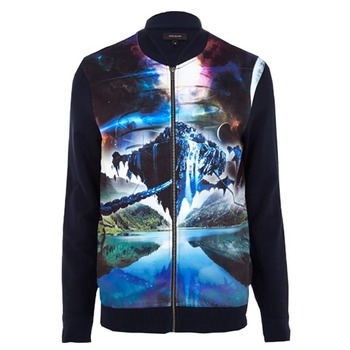 Top Quality New Design Custom Cheap Mens Nylon Windbreaker/2018 Custom Polyester Nylon Satin Bomber Jacket Men Sublimation Print