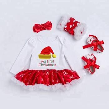 best service 0bbd6 a18d0 Neu Meine Erste Weihnachten Kleinkind Baby Mädchen Weihnachten Outfits  Weihnachten Kinder Kleidung Sets - Buy Weihnachten Kinder Kleidung  Sets,Kinder ...