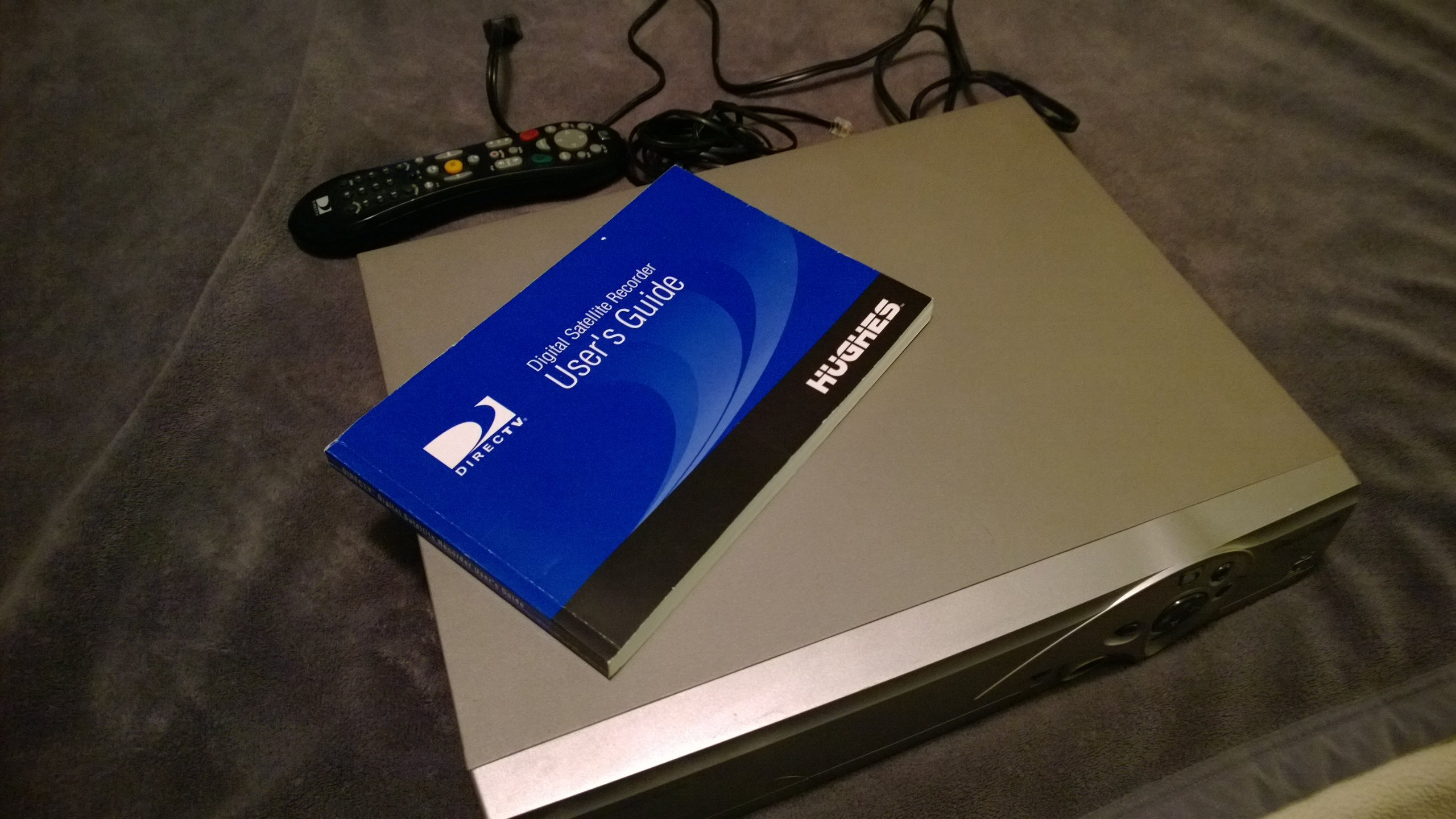 Hughes digital satellite receiver user manual hird d25 on popscreen.