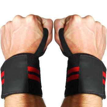 HOT Sale Professional Custom Design Body Building Wrist Wraps/Professional GYM Workout Weight Lifting Wrist Wraps