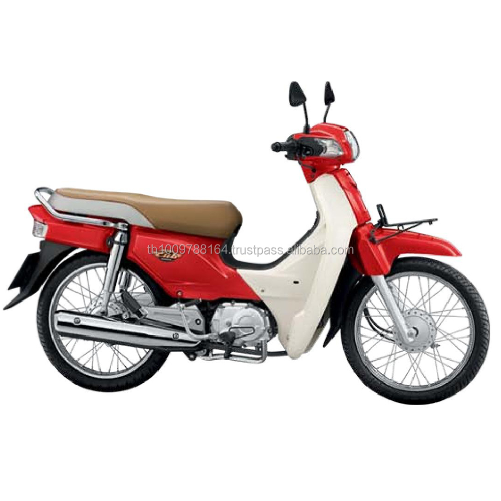 2017 100CC Motorcycle Hondx DREAM SUPER CUB 12 Red-White Colour Scooter