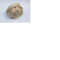 natural tussah silk tops available in bleached and unbleached qualities in 1 kg bags