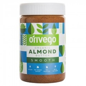 Organic Smooth Almond Butter 450 g