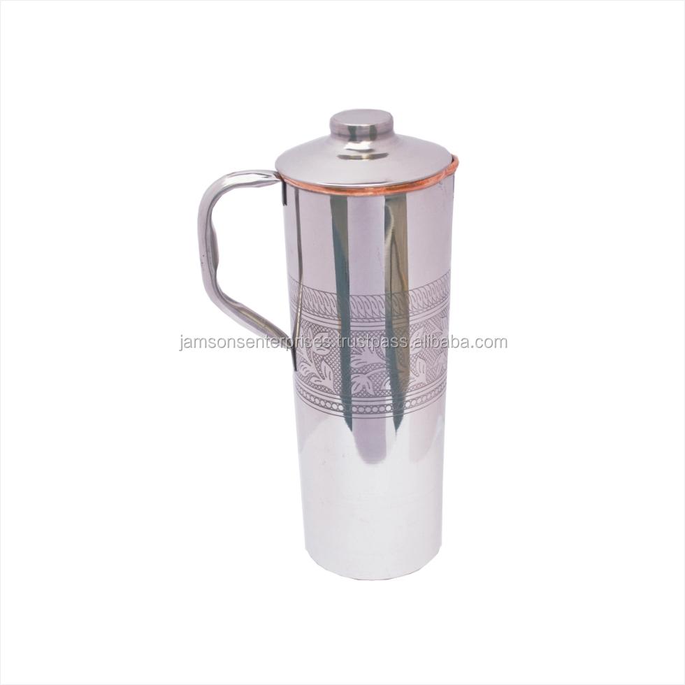 1602cff2511 STEEL Copper Water container Bottle STEEL Copper Drinking Bottle STEEL  COPPER FRIDGE BOTTLE