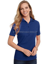 Wholesale custom women slim fit quick dry polo t- shirt