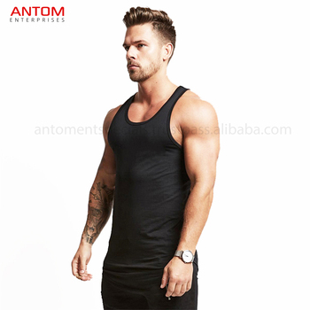 d15cc193c53d4 New 2017 Muscle Tank Tops For Men Y Back Gym Singlets