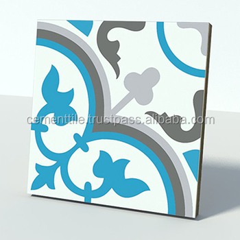 CTS 2.15 Encaustic cement tile made in Vietnam high quality export to USA