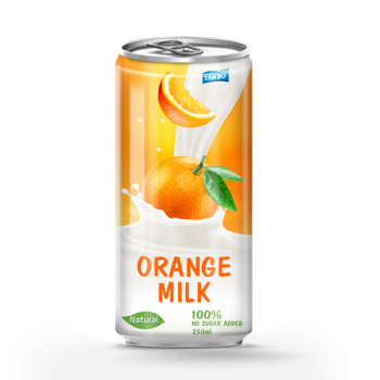 250ml Fruit Flavored Milk Drink Orange Juice Private Label Milk View Sugar Free Fruit Drink Powder Tan Do Beverage Product Details From Tan Do Refreshing Water Company Limited On Alibaba Com