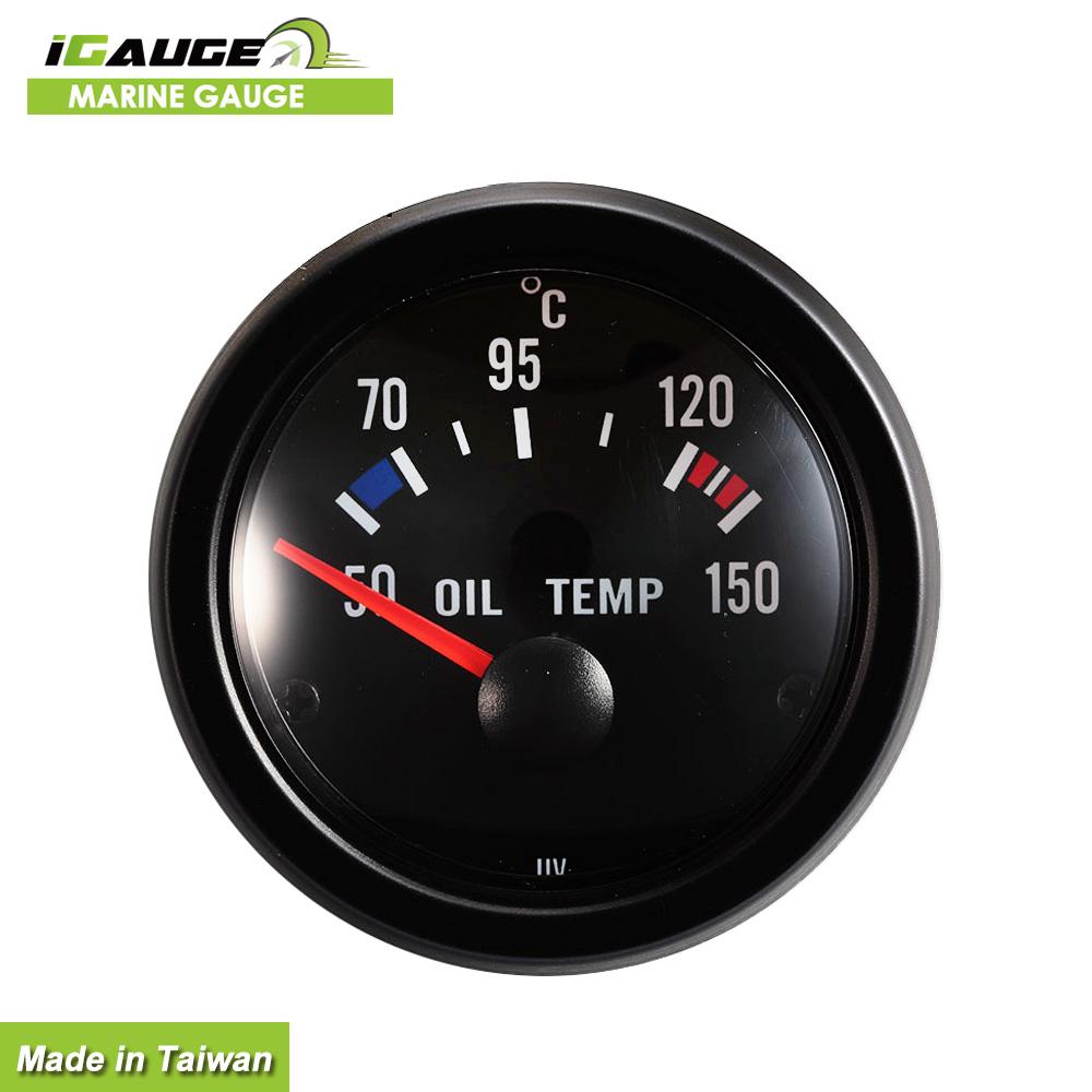 "10-150 celsius grad 2 /""52mm schwarz digital auto öl temperaturanzeige"