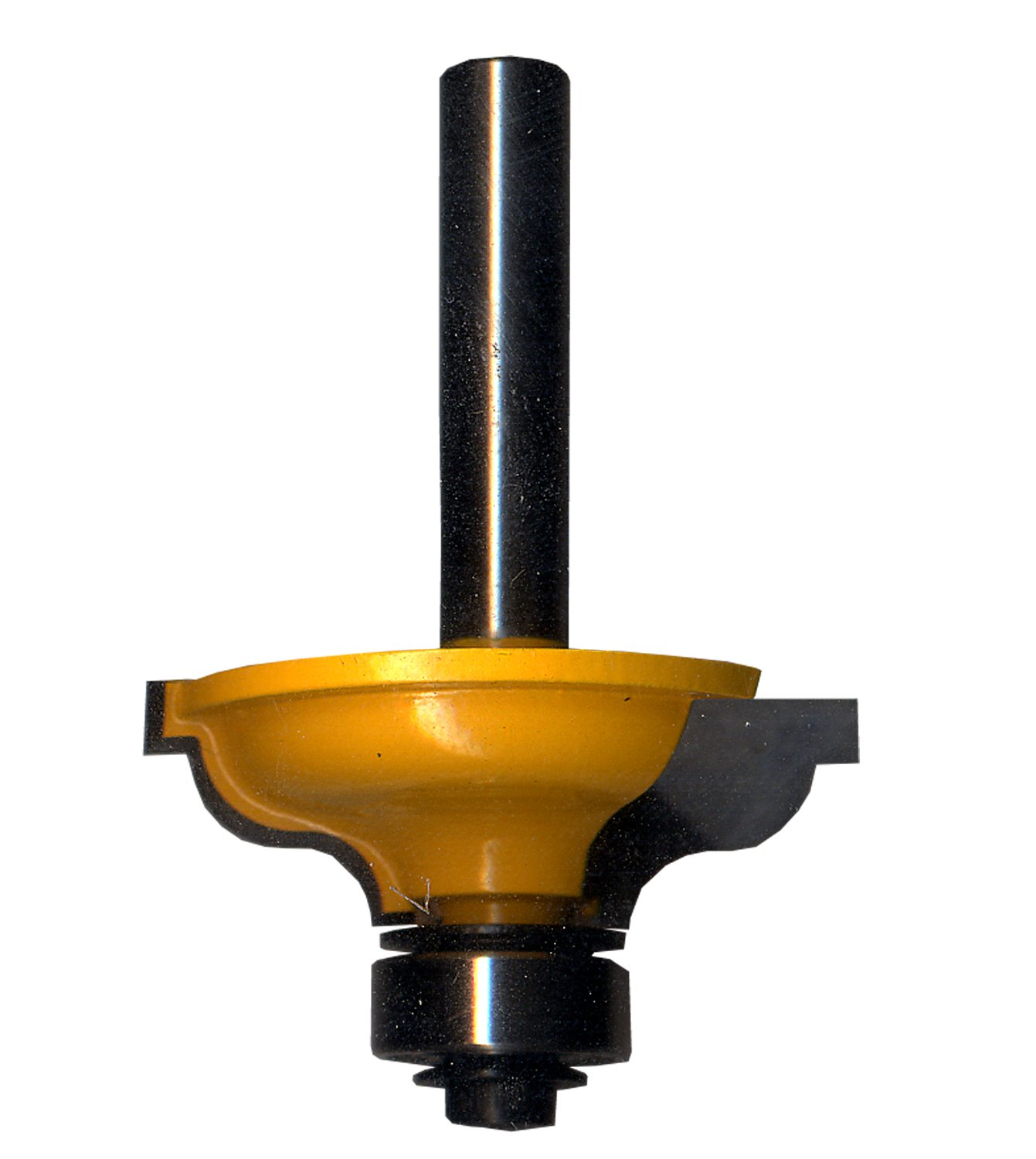 Task Tools T24293 Roman Ogee Fillet Router Bit with 1/4-Inch Shank, 1-3/8-Inch by 1/2-Inch Carbide Height, 3/16-Inch Radius