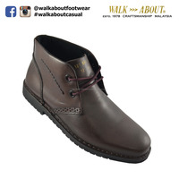 Walk About Genuine Waxed Leather Casual boots 121 031 (Waxed Brown 031)