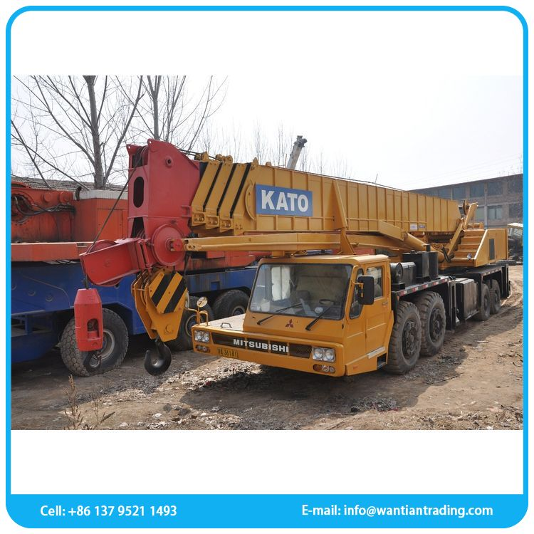 New product top used hydraulic used crane 60 ton