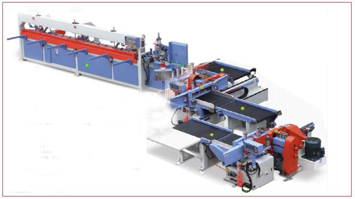Nuovo per La Lavorazione Del Legno Macchine Semi-Automatico Finger Joint Linea