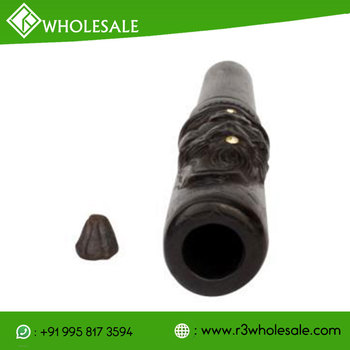 Clay Shiva Carved Pipe wholesale
