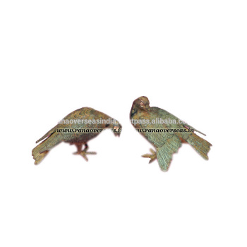Brass Metal Pair Of Eagle Home Decor
