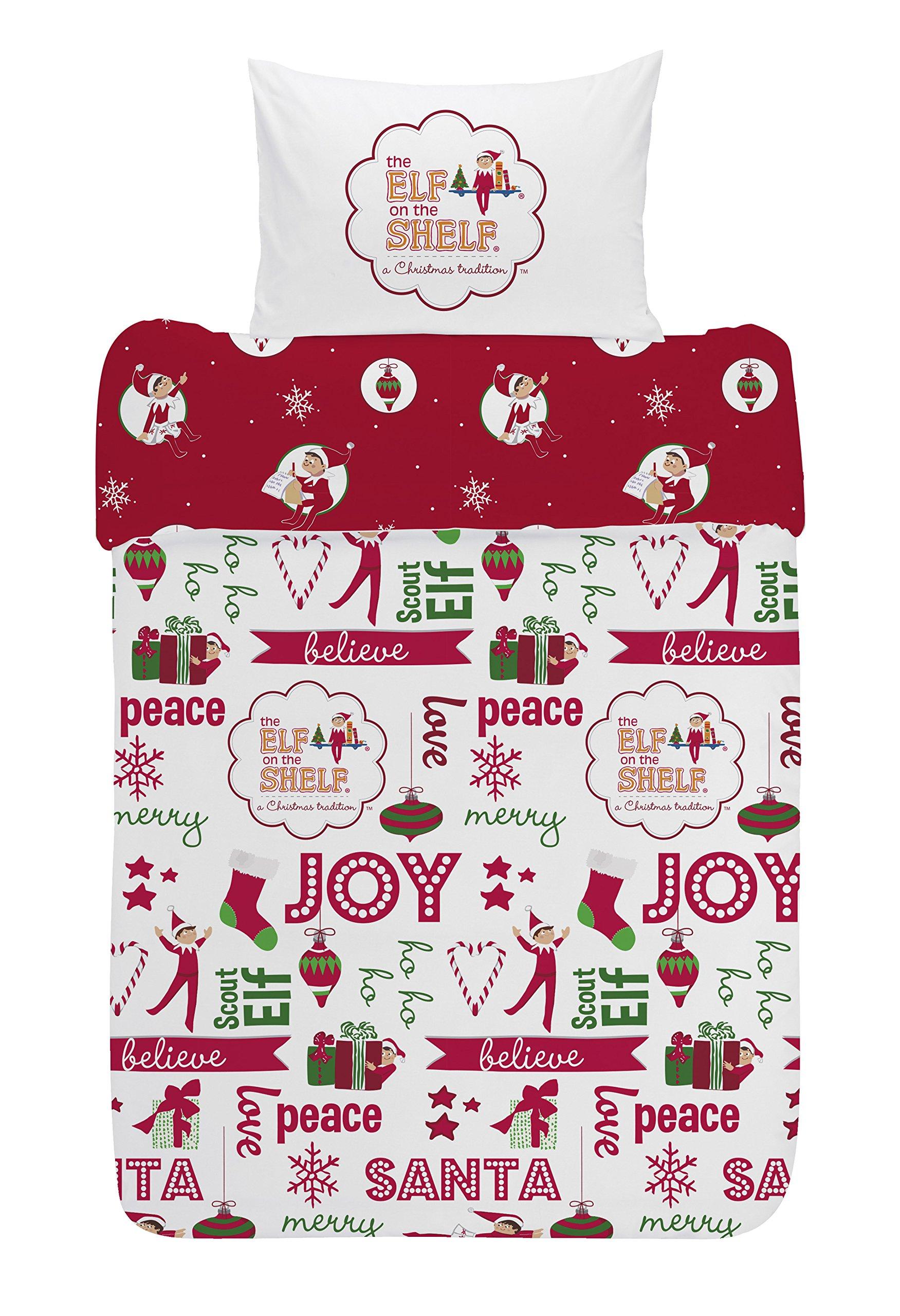 af7e0925b13 Get Quotations · The Elf On The Shelf Joy Duvet Set