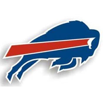 """Buffalo Bills NFL 12"""" Right Logo Car Magnet"""