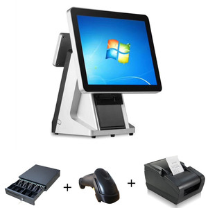 Wide screen retail point of sale system point of sale terminal