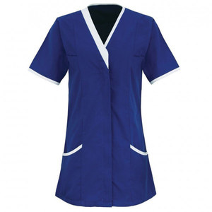 Ladies Healthcare Best Quality Medical Tunic/Scrub Top