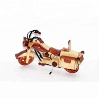 Motorcycle wooden model - Motorbike for shelf decoration