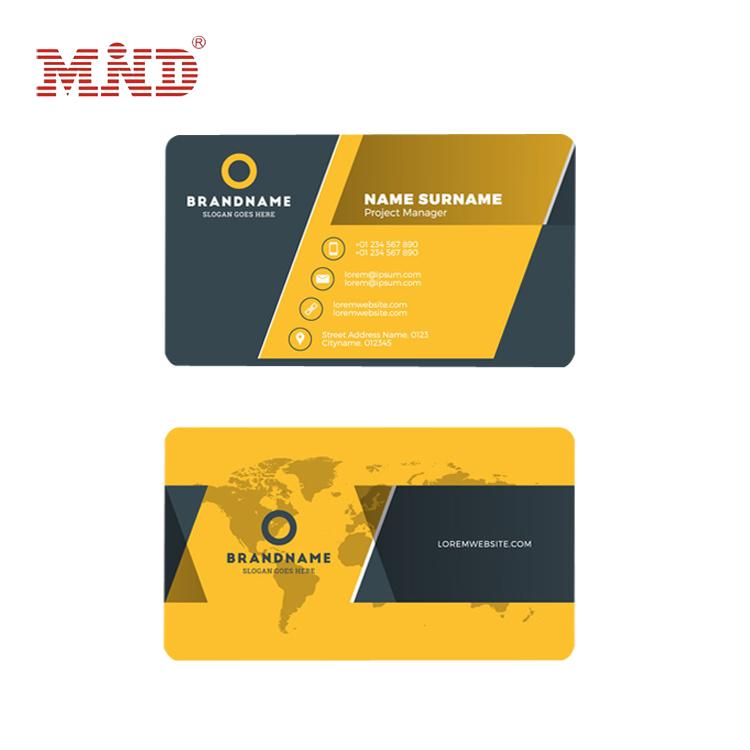 Printing pvc 3d printing business card