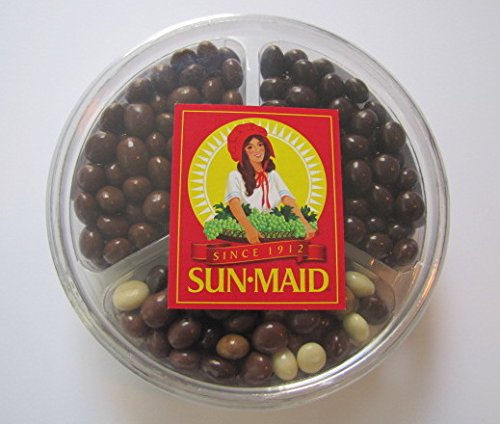 Sun Maid Espresso / Coffee Beans, Chocolate Covered - VARIETY SET - 3 flavors: Barista Blend, Milk Chocolate, and Dark Chocolate - 1lb set