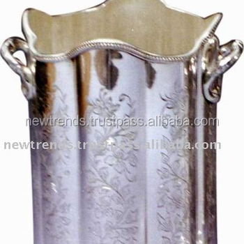 Silver plated Champagne Bottle holder Ice Bucket