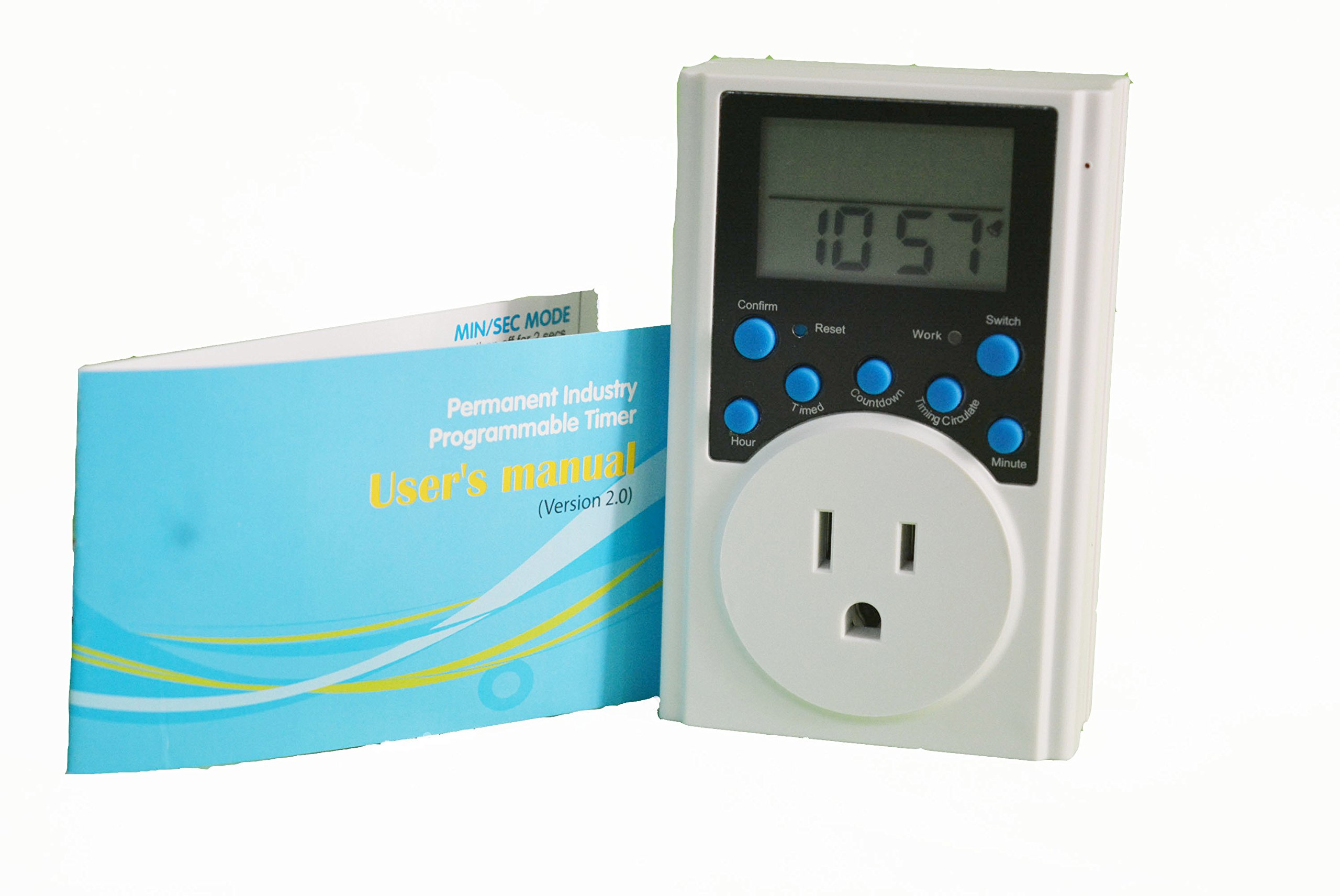 Cheap Outdoor Outlet Timer Find Deals On Line Off Get Quotations Multi Function Programmable Count Down And Infinite Loop In Second
