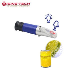 Jumbo LED Light Best Brix Refractometer Meter for Sugar Related Liquid