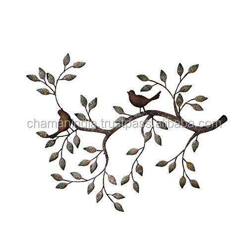 Metalen Leaf Wall Art
