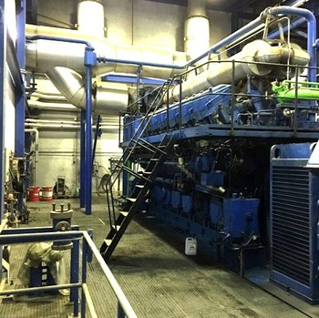 HFO Power Plant 7.2 MW MAN 12 V 40/45-Atlas Seis