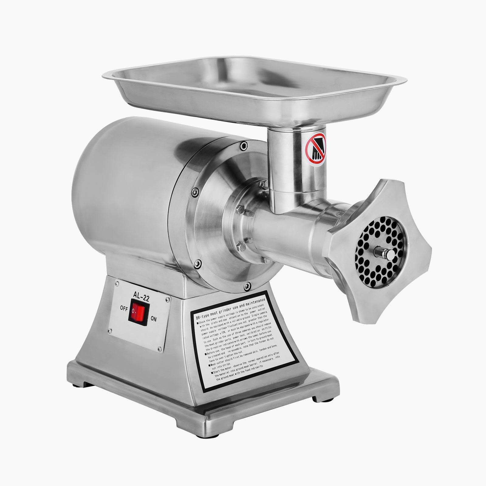 bb2c9d3e3ab Get Quotations · Forkwin Meat Grinder 750W Meat Mincer 550LBS H Meat Mincer  Grinder 193 125 RPM