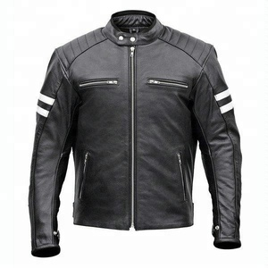 Leather Motorcycle Jacket 2019