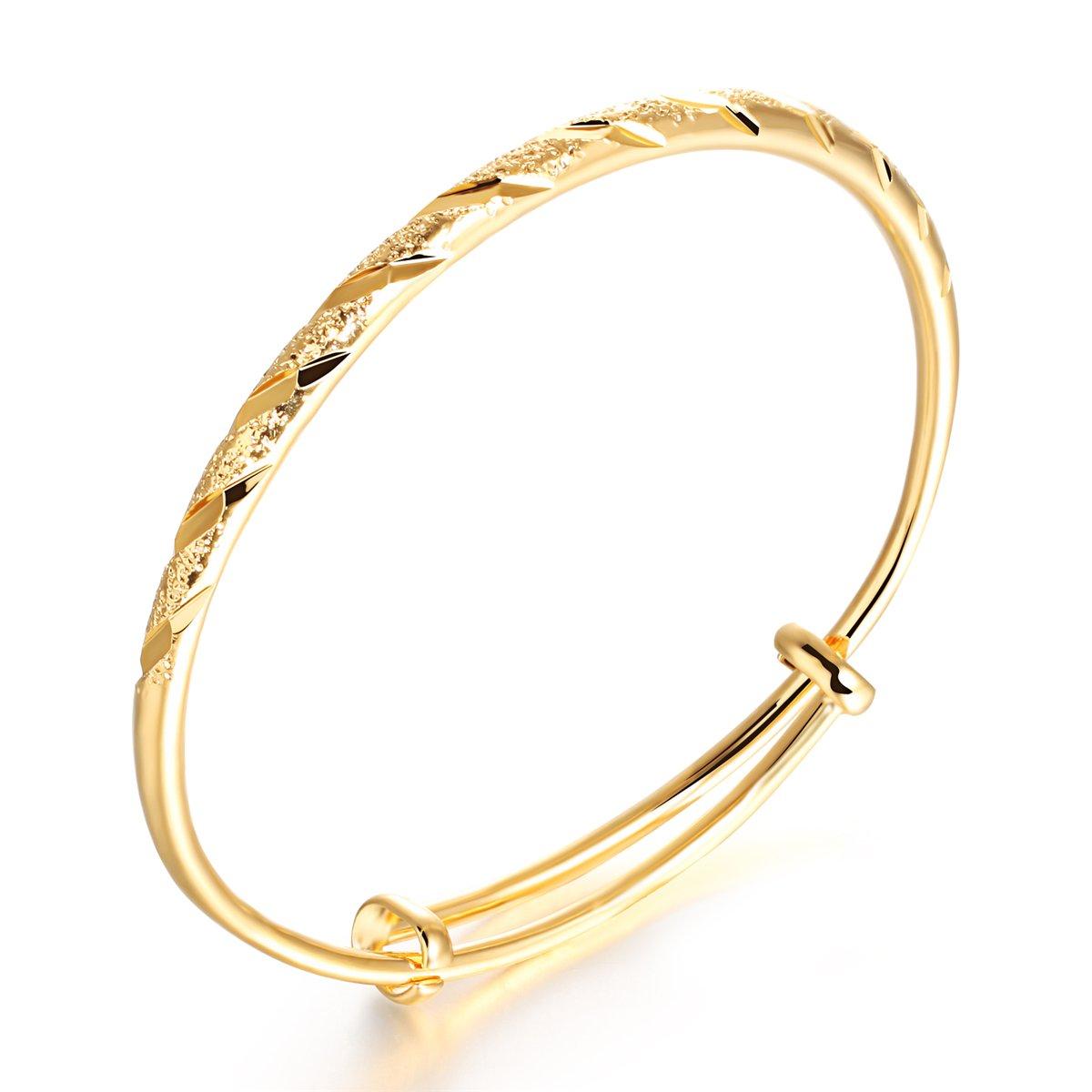 Tiffinys Jewelry Love Bangle Bracelet Elegant Christmas Flower Bangles Women Girls Charming Sparkles Gold Plated Copper Adjustable Classical Cuff Bracelets Gift Xmas Bridal Female