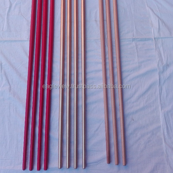 "TOOTHPICK BO STAFF MADE OF HARDWOOD SIZE 60"" X 1"" TO 1/2"" BOTH ENDS"