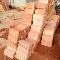 #Terracotta Clay Roof Tiles Handmade
